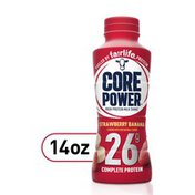 Core Power Complete Protein By Fairlife, 26G Strawberrybanan Flavor Protein Shake