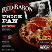 Red Baron Pizza, Meat-Trio, Thick Pan