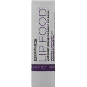 Eco Lips Lip Balm, Vanilla Lavender with Pumpkin Seed Oil, Protect