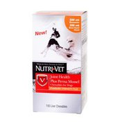 Nutri-Vet K9 Dog Joint & Hip Health Glucosamine Perna Mussel Vitamins