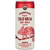 Chameleon Organic Maple Flavored Oat Milk Latte Cold Brew Coffee