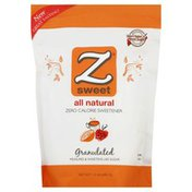 Zsweet Sweetener, Zero Calorie, Granulated