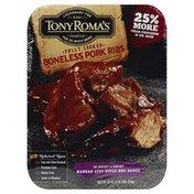 Tony Roma's Pork Ribs, Boneless, in Sweet & Smoky Kansas City Style BBQ Sauce