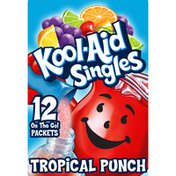 Kool-Aid Singles Sugar-Sweetened Tropical Punch Artificially Flavored Powdered Soft Drink Mix
