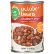 Food Club Southern Style October Beans Seasoned With Pork
