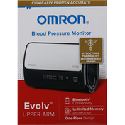 Omron Blood Pressure Monitor, Upper Arm