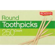 Acadian Trading Toothpicks, Round