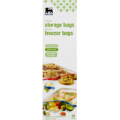 Food Lion Combo Freezer and Storage Gallon Bags