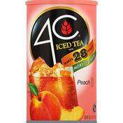 4C Foods Iced Tea Mix, Peach