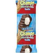Blue Bunny Champ! Mini Swirls Vanilla Ice Cream Cone