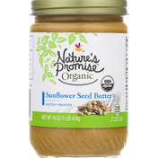 Nature's Promise Sunflower Seed Butter, Salted, Smooth
