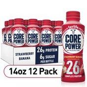 Core Power Protein Strawberry Banana 26G Bottles