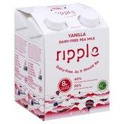 Ripple Pea Milk, Dairy-Free, Vanilla