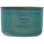 Aromascape Candle, Bamboo Rain, Cleanse