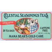 Celestial Seasonings Tea, Mama Bear's Cold Care, Tea Bags