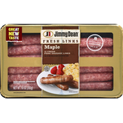 Jimmy Dean Sausage, Pork, Links, Maple
