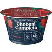 Chobani Complete Greek Yogurt Strawberry