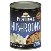 Festival Mushrooms, Pieces & Stems, Fresh Pack