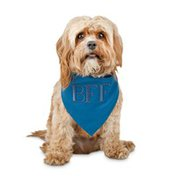 Reddy Ice Large to Extra Large Bl Best Friends Forever Dog Bandanna
