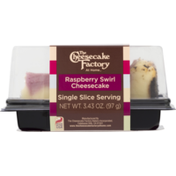 The Cheesecake Factory Cheesecake, Raspberry Swirl, Carton