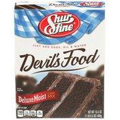 Shurfine Devil's Food Deluxe Moist Cake Mix