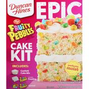 Duncan Hines Cake Kit, Fruity Pebbles