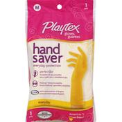 O Cedar Gloves, Handsaver, Medium