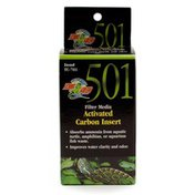 Zoo Med Turtle Clean 15 External Canister Filter Media Activated Carbon Insert