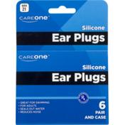 CareOne Ear Plugs, Silicone