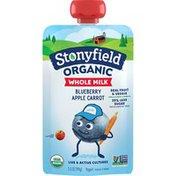 Stonyfield® Organic Blueberry Apple Carrot Whole Milk Yogurt