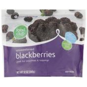 Food Club Unsweetened Blackberries