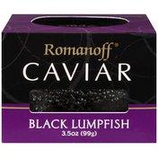 Romanoff Caviar Black Lumpfish Caviar