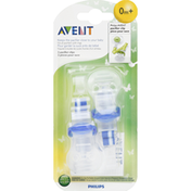 Avent Pacifier Clips, 0 M+