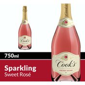 Cook's California Champagne California Champagne Sweet Rose Sparkling Wine