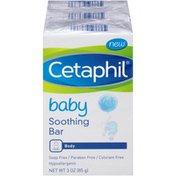 Cetaphil Antibacterial Bar, Gentle Cleansing, for Dry, Sensitive Skin