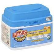 Earth's Best Toddler Formula, Milk Drink Powder, Vanilla, for Toddlers 1 Year & Up