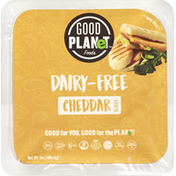 Good Planet Cheese Slices, Dairy-Free, Cheddar