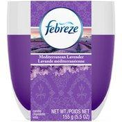 Febreze Candle Febreze Candle Mediterranean Lavender Air Freshener (1 Count, 5.5 oz)  Air Care