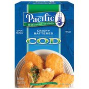 Pacific Sustainable Seafood Crispy Battered Cod