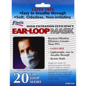 Flents Ear-Loop Mask, Latex Free