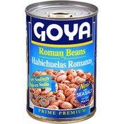 Goya Roman Beans, Low Sodium