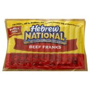 Hebrew National Franks, Beef, Family Pack