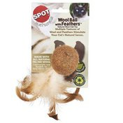 Ethical Single Wool Feather Cat Toy