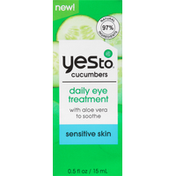 Yes To Daily Eye Treatment, Sensitive Skin