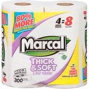 Marcal® Thick & Soft 2-Ply Mega Rolls Bathroom Tissue