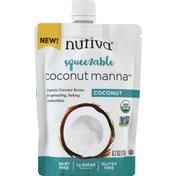 Nutiva Coconut Manna, Coconut, Squeezable