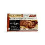 Mill Rose Farm Pork Sausage Breakfast Patties