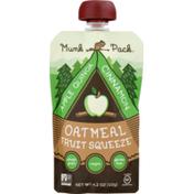 Munk Pack Oatmeal Fruit Squeeze Apple Quinoa Cinnamon