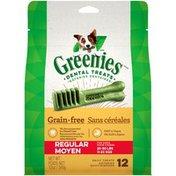 GREENIES Regular Grain Free Dental Dog Treats