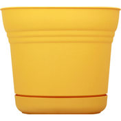 Bloem Planter, Saturn Earthy Yellow, 10 Inches